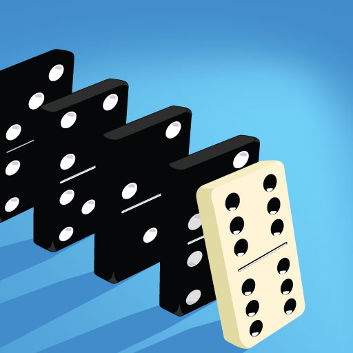 Domino Physics Runs app icon