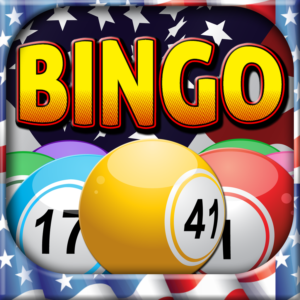 A*A American Bingo - Daub Winning Patriotic Cards